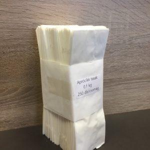 Aprocikk tasak 7x16 cm 10dkg