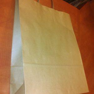 Sodrott fules papirtaska 32x41cm barna