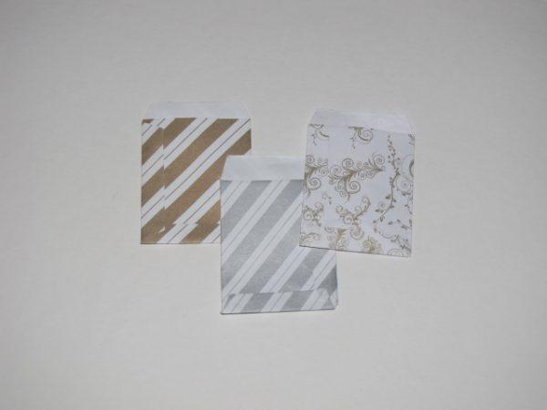 Papírtasak (papírzacskó) 5x6 cm