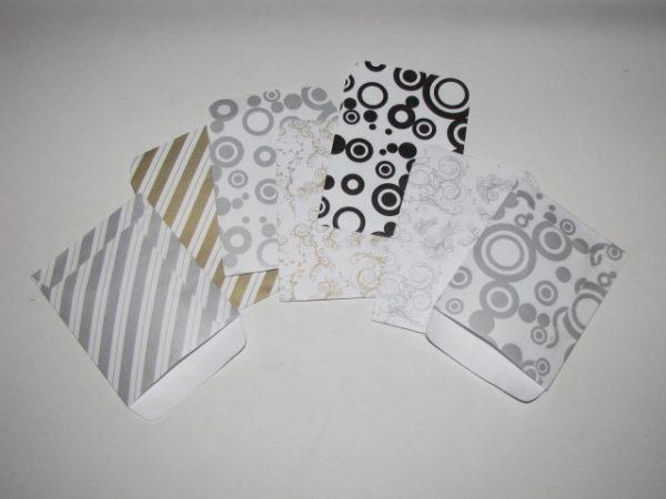 Papírtasak (papírzacskó) 8x10 cm