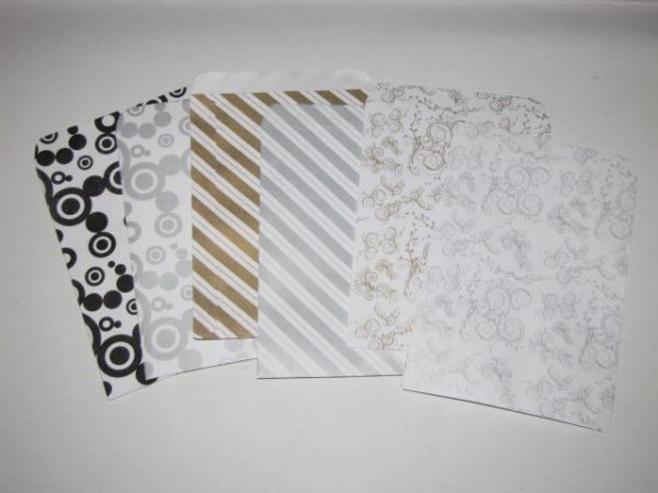 Papírtasak (papírzacskó) 12x16 cm