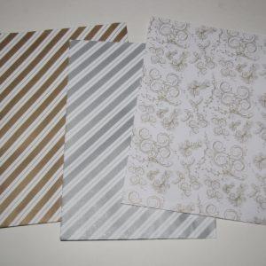 Papírtasak (papírzacskó) 16x22 cm